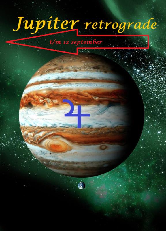 Jupiter retrograde - 14 mei 2020