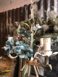Bloemen hanglamp.