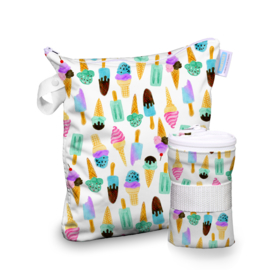 Thirsties Wet bag 'We All Scream'
