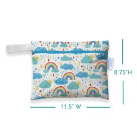 Thirsties Mini Wet bag 'Rainbow'