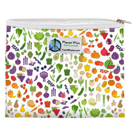 Planet Wise Sandwich bag 'Farmers Market'