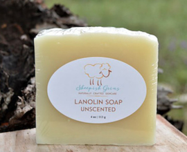 Sheepish Grins Lanolin Soap
