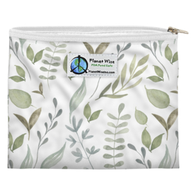 Planet Wise Sandwich bag 'BeLeaf in Yourself'