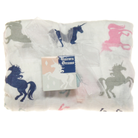 Imagine Baby Bamboo Swaddle 'Unicorn dreams'