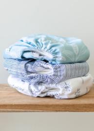 Econaps Modern Cloth Nappy 'Grey Folk Botanical'