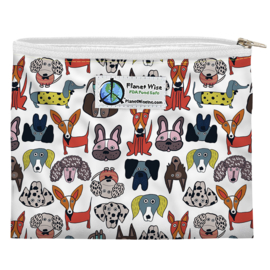 Planet Wise Sandwich bag 'Raise the Ruff'