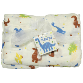 Imagine Baby Bamboo Swaddle 'Rawr'