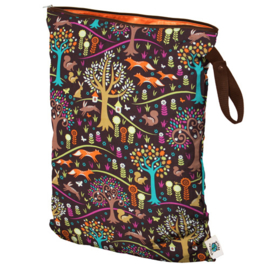 Planet Wise Wet bag Large 'Jewel Woods'