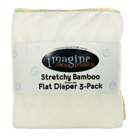 Imagine Baby Stretchy Bamboo Flats '3-pack'