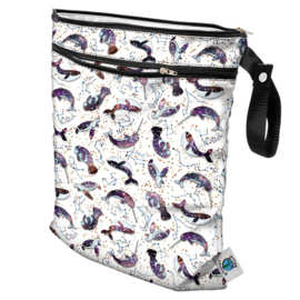 Planet Wise Wet/dry bag 'Celestial Sea'