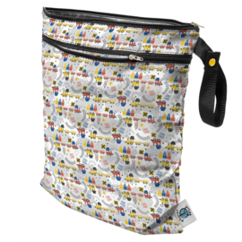 Planet Wise Wet/dry bag 'All Abroad'
