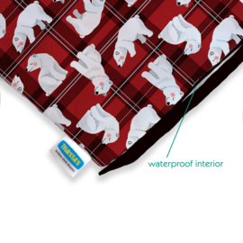 Thirsties Wet bag 'Polar Plaid'