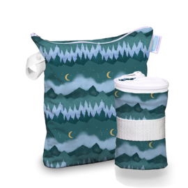 Thirsties Wet bag 'Mountain Twilight'