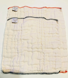 Petite Crown Organic Cotton Prefolds