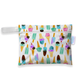Thirsties Mini wet bag 'We All Scream'