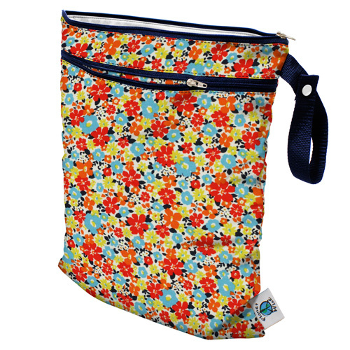 Planet Wise Wet/dry bag 'Fancy Pants'