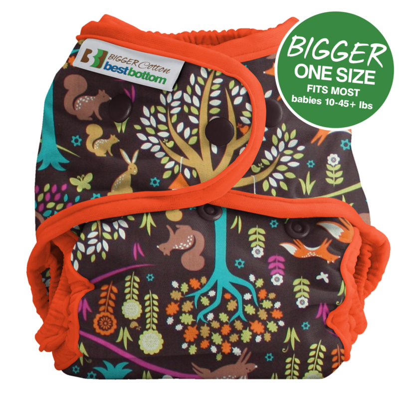 Bigger BestBottom Cotton Cover  'Jewel Woods'