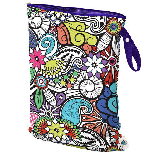 Planet Wise Wet bag Large 'Oasis'