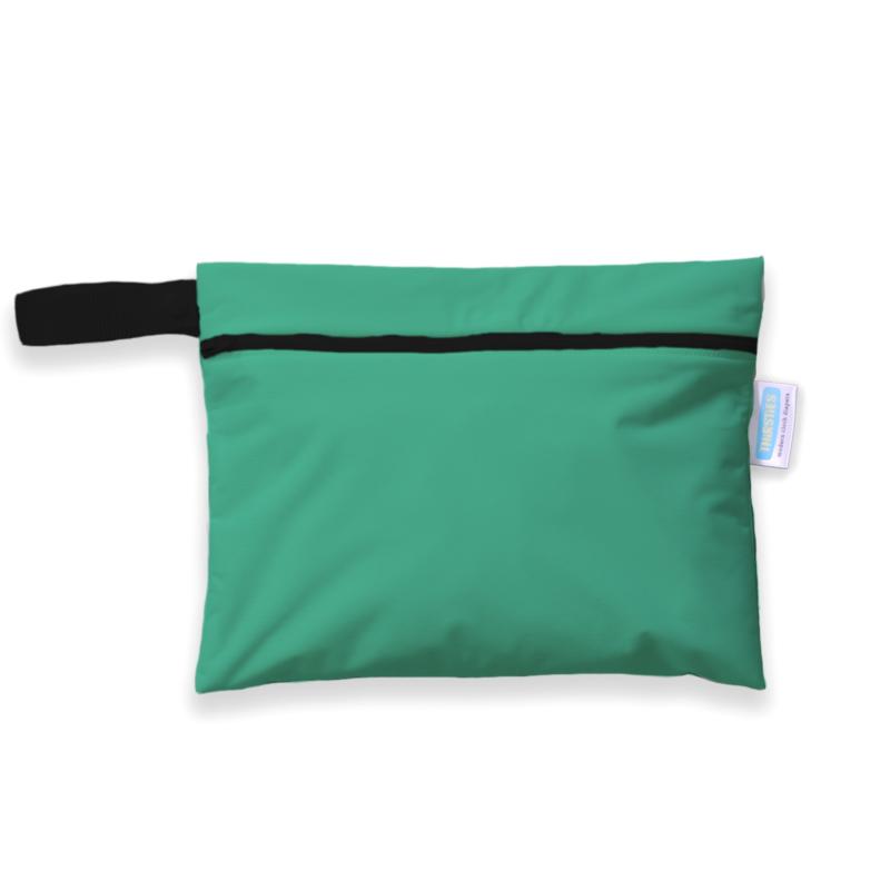 Thirsties Mini Wet bag 'Seafoam'