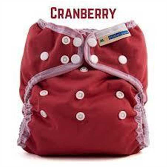 """Mother-ease Stay dry Wizard UNO Onze-size All-in-one """"Cranberry"""""""