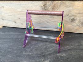 Acryl stand papegaai