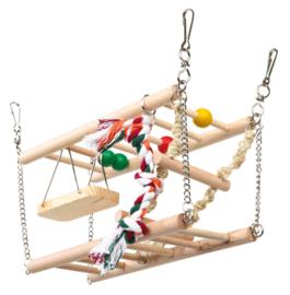 Dubbele trap Hangbrug