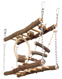 Hangbrug dubbele trap Nature
