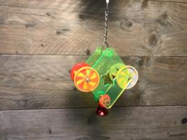 Plexiglas speelgoed met belletjes