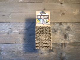 Cardboard tread block