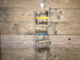Ladderbrug hout+ketting
