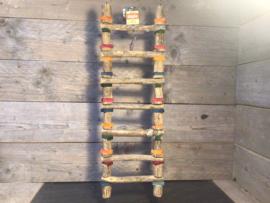 Ladder 7 treden hout 74 cm