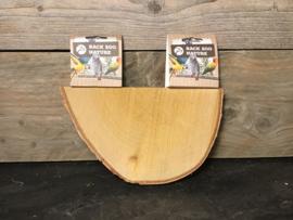 Plateau half wood slice