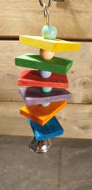 Blokjes regenboog