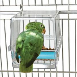 Anti-mors voerbak Papegaaien