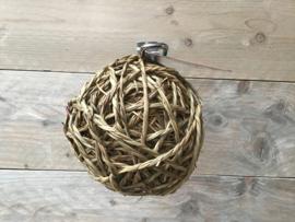 Zeegras bal met bel L