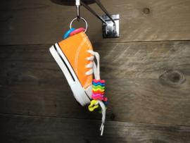 Beaker sneaker met kralen in verschillende kleuren