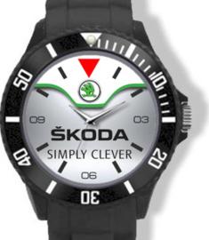 Skoda Logo Horloge