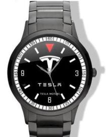 Tesla Logo Horloge