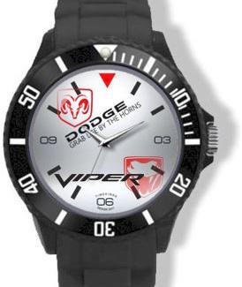 Dodge Viper Logo Horloge