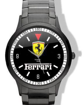 Ferrari Logo Horloge
