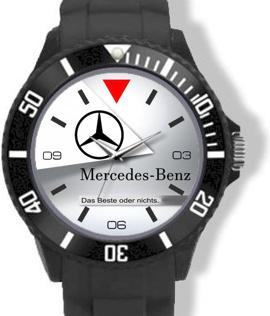 Mercedes Logo Horloge