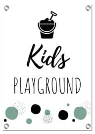 Tuinposter | Kids Playground