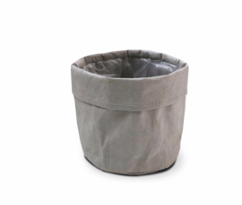 SIZO paper bag grey D13 H13cm