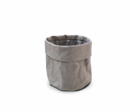 SIZO paper bag grey D11 H11cm