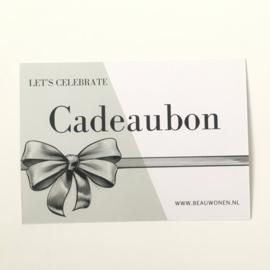 Beau Wonen Cadeaubon | €20,00
