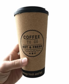 Koffie to go beker   Coffee to go