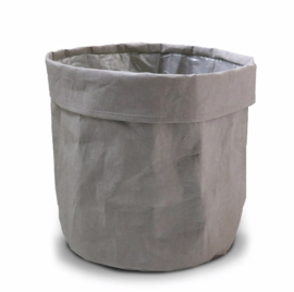 SIZO paper bag grey D25 H25cm