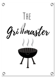 Tuinposter | The Grillmaster