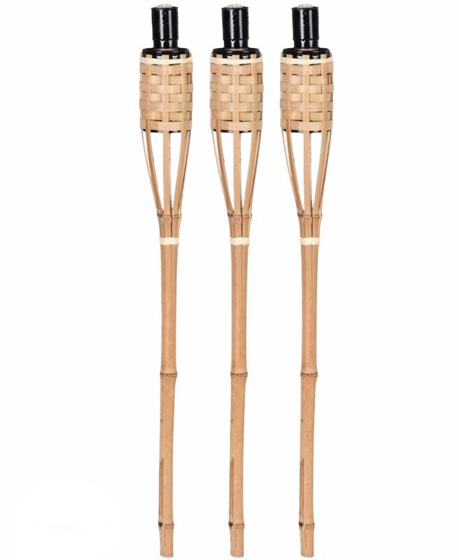 Bamboe fakkel set 3 st