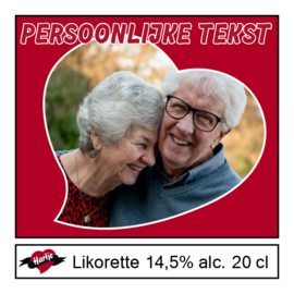 Hartje Likorettes - Private label 24 stuks